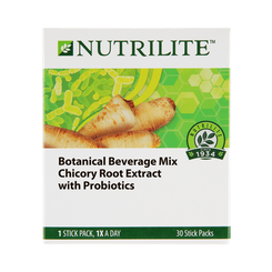 Nutrilite Botanical Beverage Mix Chicory Root Extract with Probiotics