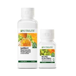 Nutrilite Bio C Plus All Day Formula (60 tab) and Nutrilite Lecithin-E (150tab)